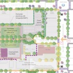Detail of Drawing of Community School Park