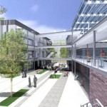 Perspective Illustration of Harbor College